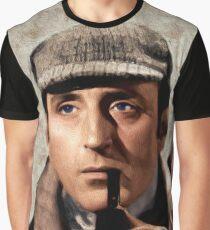 Basil Rathbone as Sherlock Holmes Graphic T-Shirt