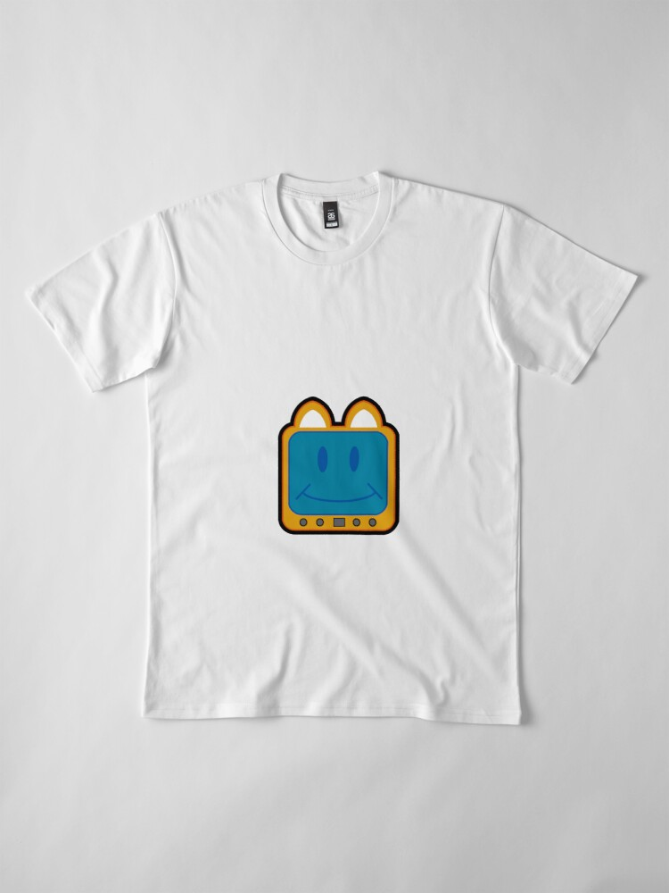 Alternate view of Television Kitty Smiling Premium T-Shirt