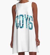 COYS * Blue Camo Edition A-Line Dress