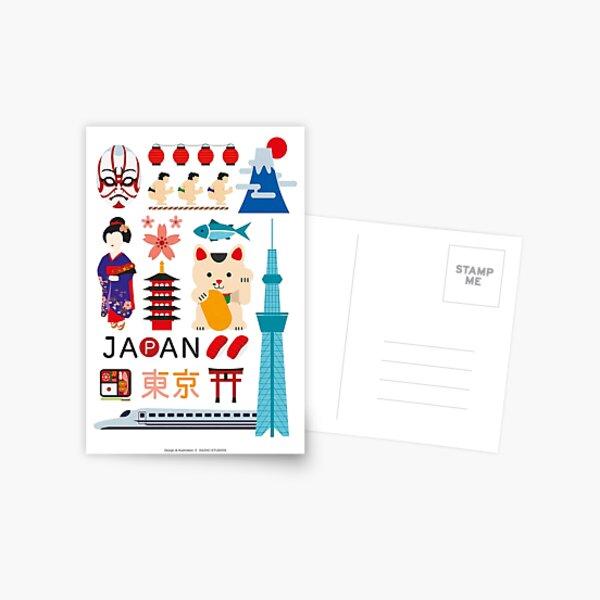 Tokyo Poster Postcard
