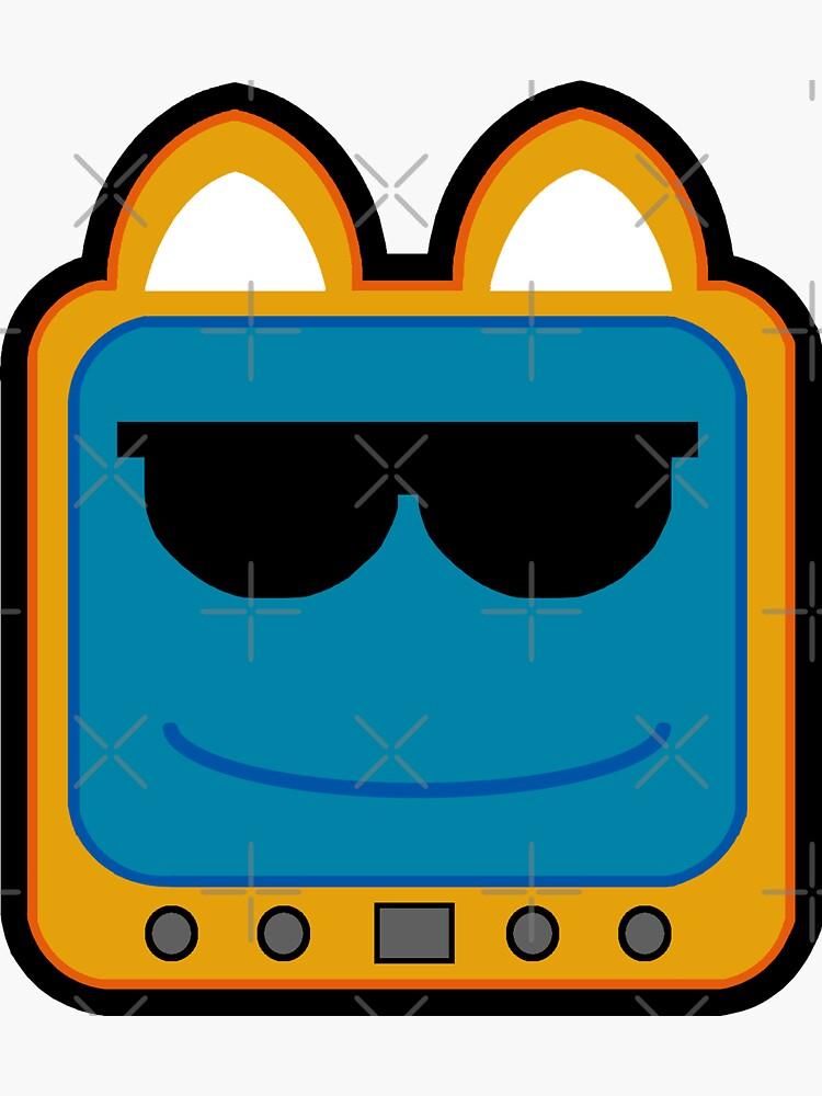 Television Kitty Cool Glasses 1 by eduardorandom