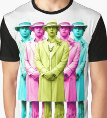 Doctor Who PETER DAVISON The Fifth Doctor POP ART Graphic T-Shirt