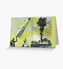MISSILE Greeting Card
