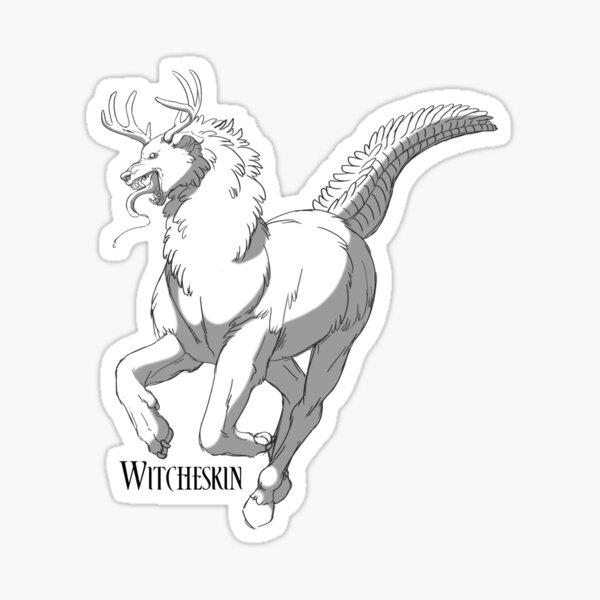 Geraint's Beast - Witcheskin Sticker