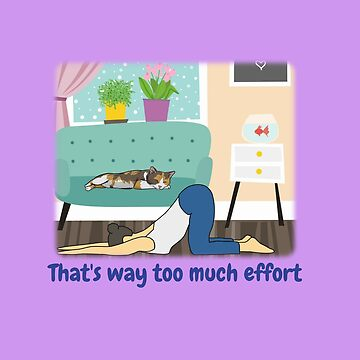 Cat's view of effort in a cozy home by DAscroft