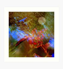 Vibrational symphony in Linaji major Art Print