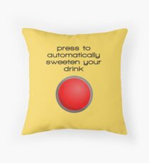 Automatic sugaring button Floor Pillow