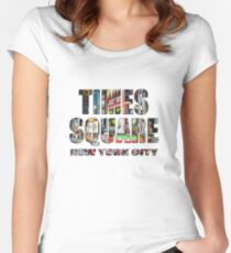 Times Square II Special Edition II Fitted Scoop T-Shirt