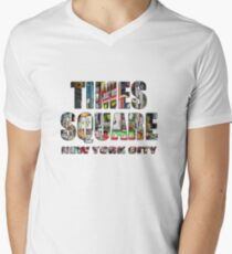 Times Square II Special Edition II V-Neck T-Shirt