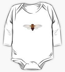 Eastern Double Drummer Cicada (cicadarama) One Piece - Long Sleeve