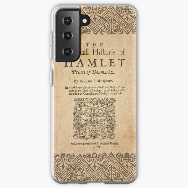 Shakespeare, Hamlet 1603 Samsung Galaxy Soft Case