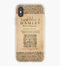 Vinilo o funda para iPhone Shakespeare, Hamlet 1603