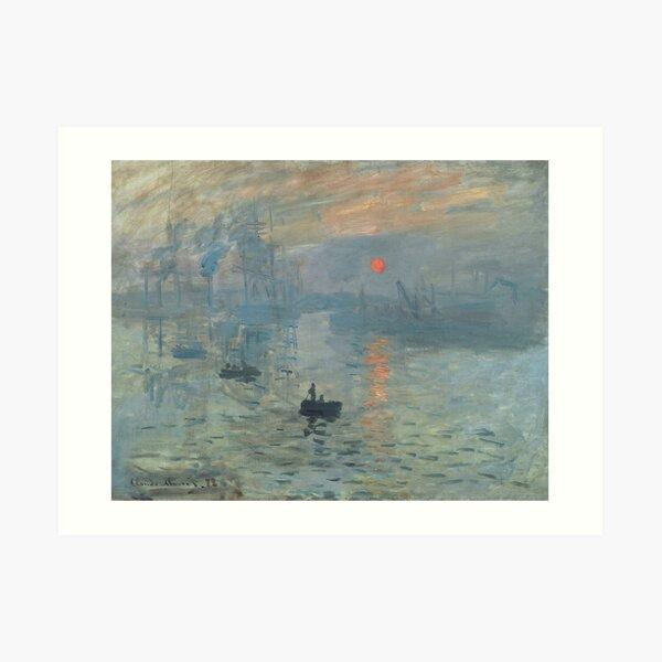 Impression, Sunrise - Claude Monet Art Print