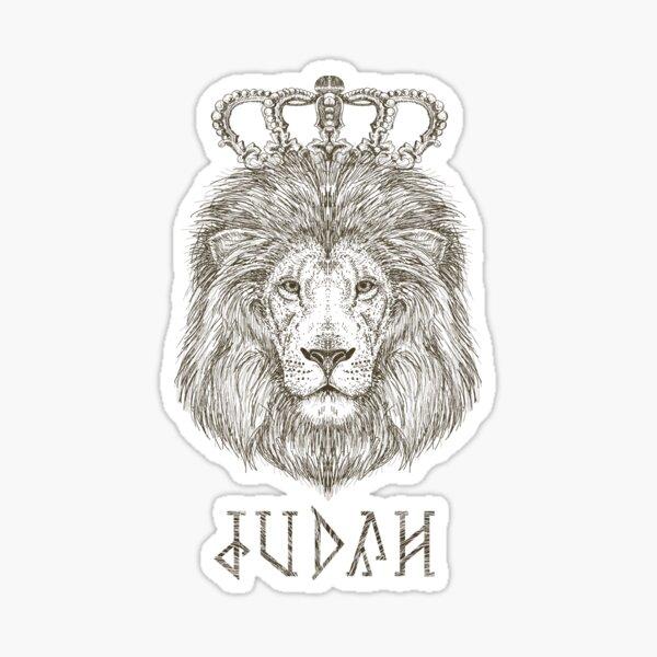 Judah The King Sticker