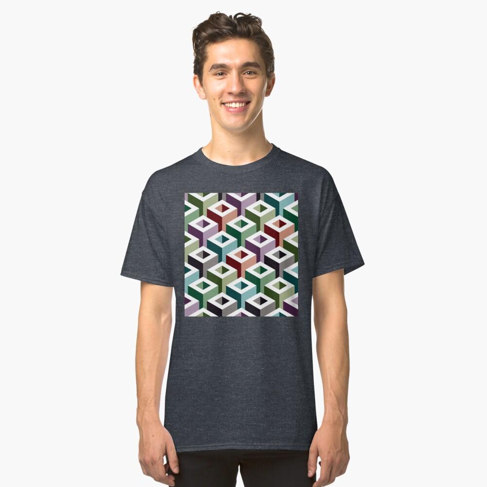 Geometric Pattern: Tube: Colours Classic T-Shirt
