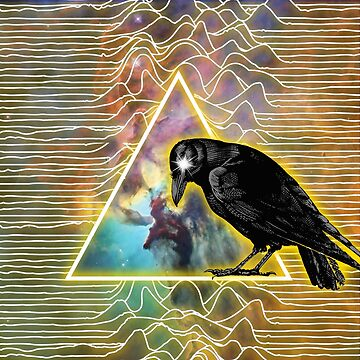 Cosmic crow by Conanhungry