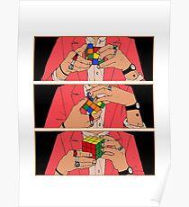 Harry Styles - Rubik's cube Poster