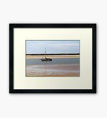 Victoria (Sailing boat in Alvor, Algarve, Portugal) Framed Print