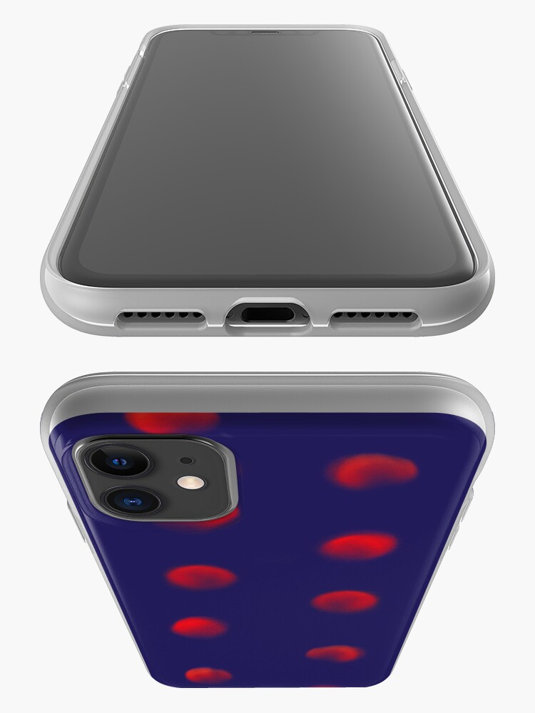 Alternate view of Total eclipse of the polka dot iPhone Case & Cover
