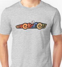 Wacky Races Logo T-shirt, Unisex. Choice of Colours
