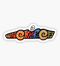 Wacky Races -A Classic Cartoon Sticker