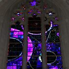 Stained Glass in Washington DC Cathedral by AnnDixon