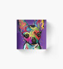 Chihuahua Kunst Acrylblock