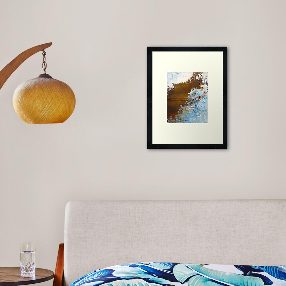 Rusty Sky II Framed Art Print