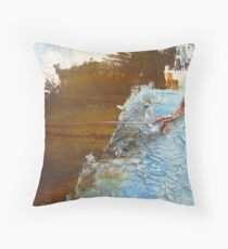 Rusty Sky II Throw Pillow