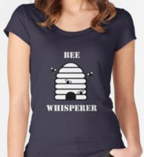 Beekeeper Apiarist Funny Design - Bee Whisperer Women's Fitted Scoop T-Shirt