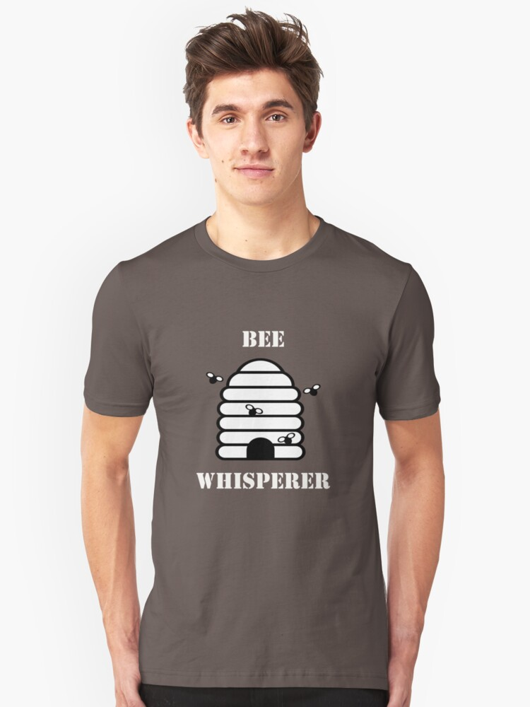 Beekeeper Apiarist Funny Design - Bee Whisperer Unisex T-Shirt Front