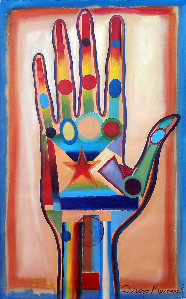 The hand 7. by Diego Manuel Rodriguez