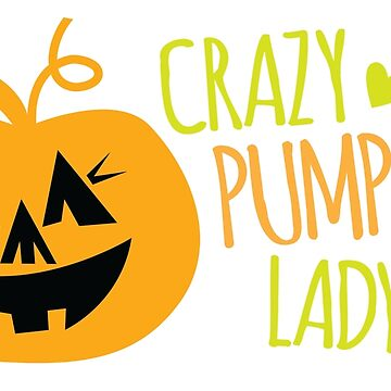 Crazy Pumpkin Lady by jazzydevil