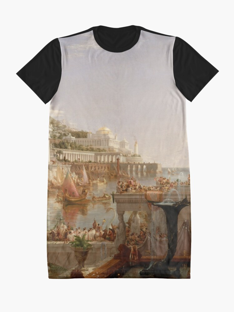 Alternate view of The Consummation of Empire - Thomas Cole Graphic T-Shirt Dress