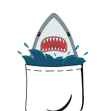 Shark in a pocket by acond3