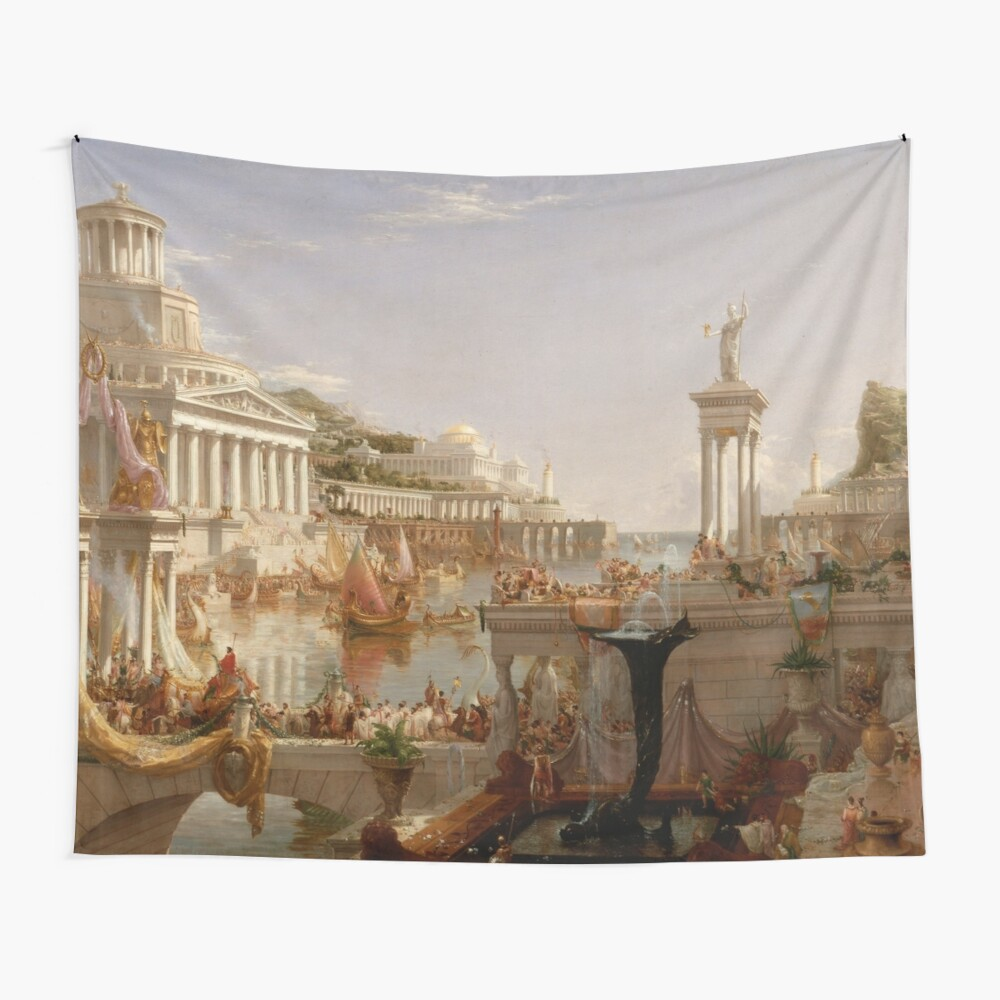 The Consummation of Empire - Thomas Cole Wall Tapestry