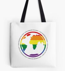 A world for everyone! Tote Bag