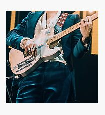 Harry Styles guitar concert Photographic Print