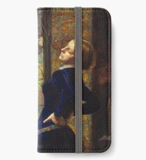 Mariana (Millais) - John Everett Millais iPhone Wallet/Case/Skin