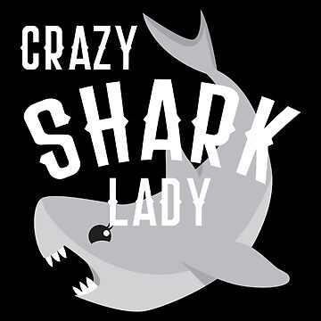Crazy Shark Lady 2 by jazzydevil