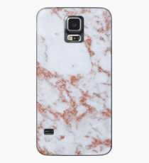 Intense rose gold marble Case/Skin for Samsung Galaxy