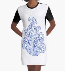 Sea flourishes  Graphic T-Shirt Dress