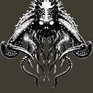 Cthulhu High Contrast by Steve Crompton