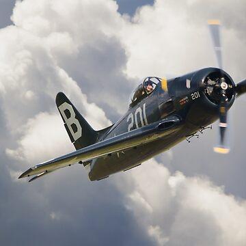 Grumman F8F-2P Bearcat by Nigdaw