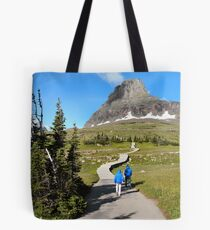 Protecting the Alpine Environment in Glacier National Park, Montana, USA Tote Bag