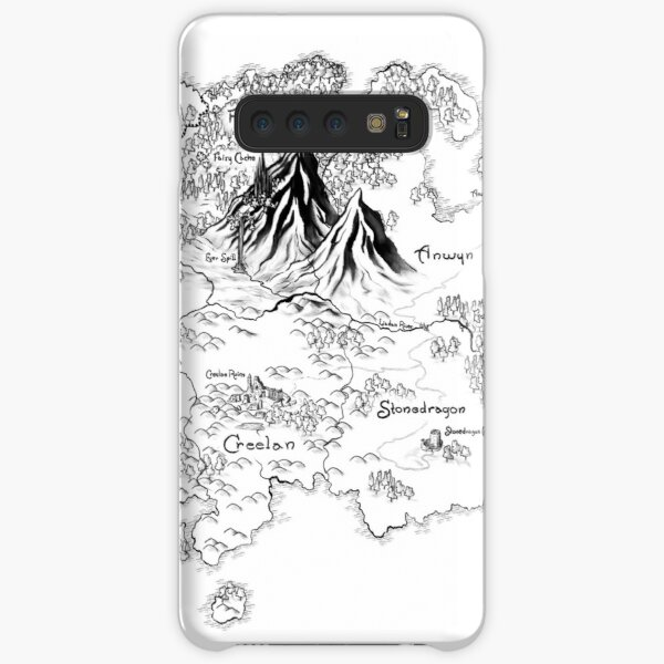 "Official illustrated Map from ""Future Queen"" Samsung Galaxy Snap Case"