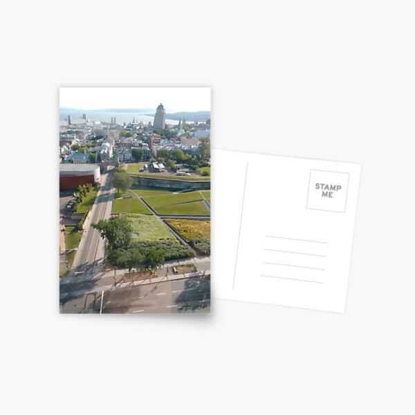 Quebec City, #QuebecCity, #Quebec, #City, #Canada, #buildings, #streets, #places, #views, #nature, #people, #tourists, #pedestrians, #architecture, #flowers Postcard