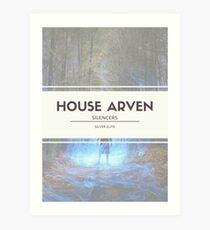 House Arven Art Print
