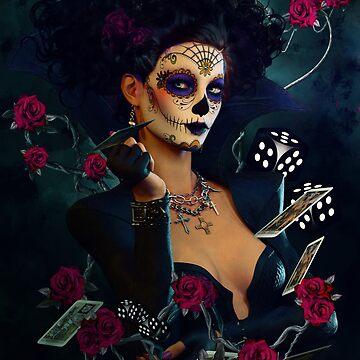 Dead Lucky Sugar Doll by Allegra
