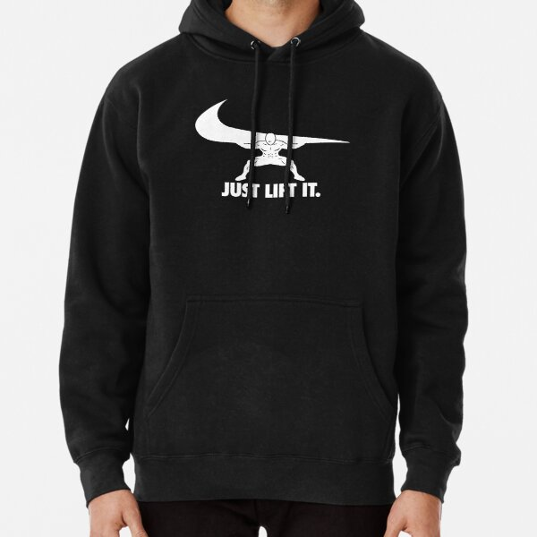 Lift It - Squat - Leg Day Parody Pullover Hoodie